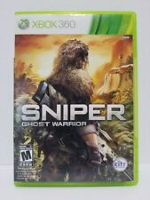 Sniper Ghost Warrior: XBOX 360 videogame - complete - tested + warranty