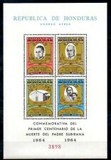 Honduras 1965 MISSIONARY TO INDIANS S/S  CV.$20.00 MNH RELIGION (900+WATCHERS!!)