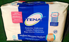 "(10 Underwear) TENA Adult Extra Absorbency Medium 34"" - 44"" Men's Womens Diapers"
