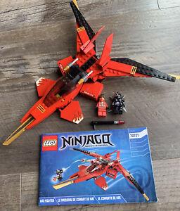 2014 LEGO Ninjago Set #70721 Kai Fighter 100% Complete w/ Manual & Minifigures