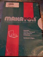 Makaton Animal, Transport & Vehicles Database PC-CDROM Vintage Software SEALED