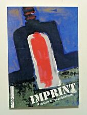 IMPRINT - RUSSIAN ARTIST-PUBLISHERS Book Art & Design 1920s-90s - Edition of 350