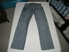"Levi's Men's 514 Slim Straight Blue Denim Jeans Size Waist 32"" Inseam 32"""