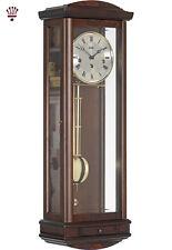BilliB Abbeydale Mechanical Wall Clock with Westminster Chime in Walnut