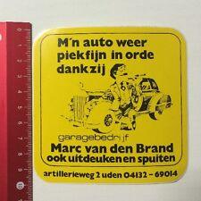 Aufkleber/Sticker: Marc Van Den Brand - Ook Uitdeuken En Spuiten (090616154)