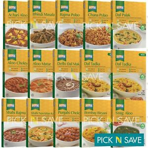 Ashoka Ready to Eat Meals Heat & Eat Finest Ready Indian Dishes - All Varieties