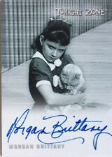 Twilight Zone Rod Serling Edition Morgan Brittany Autograph A168