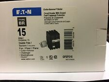 Eaton Cutler Hammer GFEP215 Equipment protection circuit breaker BR NEW 2p 15amp