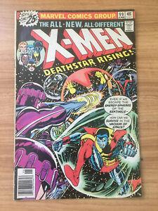 X-Men #99 (1976) Bronze Age 1st Black Tom Cassidy Deathstar Rising