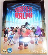 WRECK-IT RALPH Brand New 3D (and 2D) Blu-Ray STEELBOOK Lenticular magnet Disney