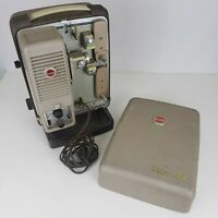 Kodak Showtime 8 8MM Film Projector Model 500 - Tested Working With Case