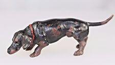 Vienna Austrian Cold Painted Bronze Daschund Dog Signed