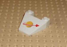 LEGO - Wedge Decorated 4 x 4 Taper with Classic Space Pattern (4858) JD119