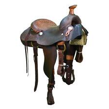 """Used 15"""" Billy Cook Roping Saddle Code: U15BCOOKROPE14BK"""