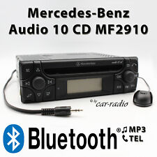 Mercedes Audio 10 CD MF2910 MP3 Bluetooth mit Mikrofon AUX-IN ohne CD-Funktion