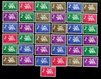 British Colonies 1963 Freedom from Hunger Stamps Set of 37
