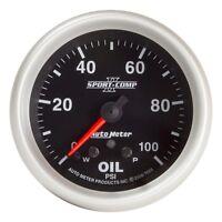 AutoMeter 7653 Sport-Comp II Electric Oil Pressure Gauge