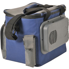 Blue S32 12 V Volt Thermo Electric Car Fridge Cooler Cool Bag 15 LTR LITRE
