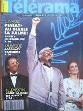 1950 PIALAT PALME CANNES RITA HAYWORTH PETER GABRIEL JEAN LEFEBVRE TELERAMA 1987
