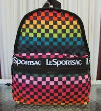LeSportsac Backpack Rainbow Candace Basic Travel School Bag NWT
