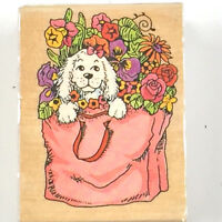 Stamps Happen Inc #60038 Morgan Sunflowers Take Time To Dream Rubber Stamp,D
