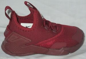 BOY'S NIKE HUARACHE (TDE) TEAM RED/WHITE TODDLER'S SHOES SIZE 5