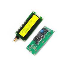 IIC/I2C/TWI/SPI Serial Interface 1602 16X2 Character LCD Module Display Yellow