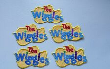 Embroidered WIGGLES LOGO MOTIF x 5