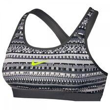 bee296272d409 Nike Women s X-small Pro Classic Black White Volt Training Sports Bra  839316 065