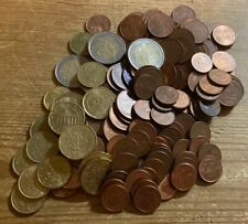 Euro Coin Lot - Foreign Exchange - 15.46 Face Value - 1,2,5,10,20,50,1.00,2.00