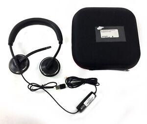 Plantronics - C520-M Blackwire 500 Series Binaural Headset Headphones w/ Case