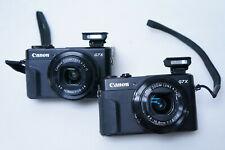 Canon PowerShot G7 X Mark II 20.1 MP Digital Camera - Black (Lot of 2) | READ