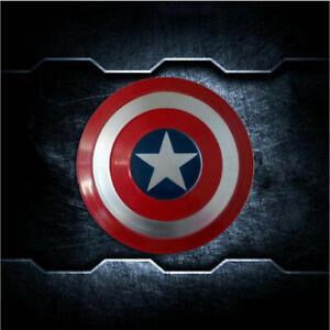 1/6 Scale Soldier Accessories Captain America's 10CM Red&Blue Alloy Shield Model