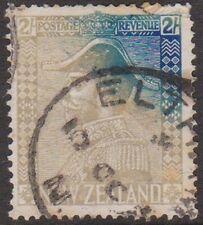 (RK35) 1926 NZ 2/- blue admiral (variety) mauve &blue