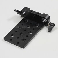 Tripod Rod Clamp Cheese Mounting Plate fr 15mm Rod Support DSLR Rig Follow Focus