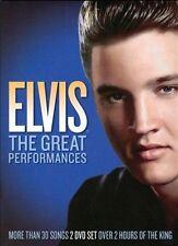 USED (VG) Elvis Presley: The Great Performances [DVD] (2011)
