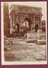 PHOTO - 160513 - ITALIE ROME - monument antique porte arc