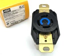 Hubbell Hbl2420 Locking Single Receptacle 20A 250Vac Nema L15-20R