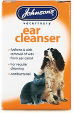 Johnsons Ear Cleanser For Cats And Dogs 18ml Pack of 3