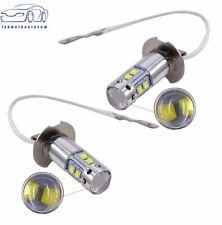 H3 6000K White 50W  LED Fog Lights Bulbs For 2000-2004 Toyota Corolla US