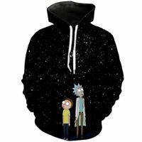 Rick e Morty T-Shirt Felpe con Cappuccio da jml2 3D