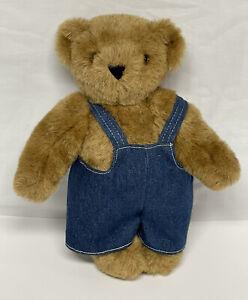 Vermont Teddy Bear sP679621 w/ Overalls
