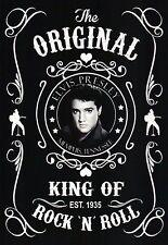 Elvis Presley, The Original King of Rock 'N' Roll Established 1935 --- Postcard