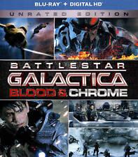 BATTLESTAR GALACTICA: BLOOD & CHROME NEW BLU-RAY