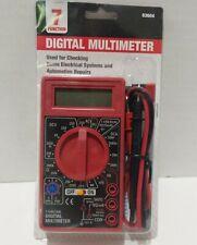 7 Functional Digital Multimeter # 63604 Electical Home Auto Repairs