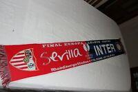 BUFANDA FINAL UEFA EUROPA LEAGUE 2020 SEVILLA .FC. Y INTER DE MILAN   SCARF