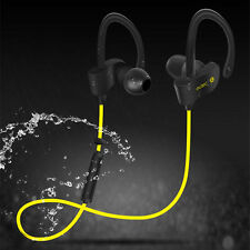 Wireless Bluetooth Headset Sport Stereo Earphone Headphone For Samsung iPhone