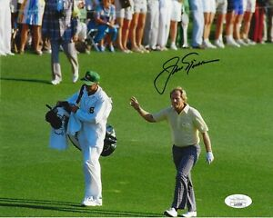 Jack Nicklaus autographed 8x10 signed 1986 Masters PGA Golf auto photo JSA COA