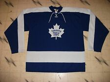 VINTAGE TORONTO MAPLE LEAFS TIE NECK HOCKEY JERSEY FROM EARLY 1970'S MENS LRG 48