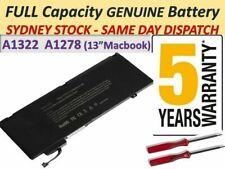 """Fast Charging A1322 Battery Apple Macbook Pro 13"""" A1278 2009 2010 2011 2012 AUS"""